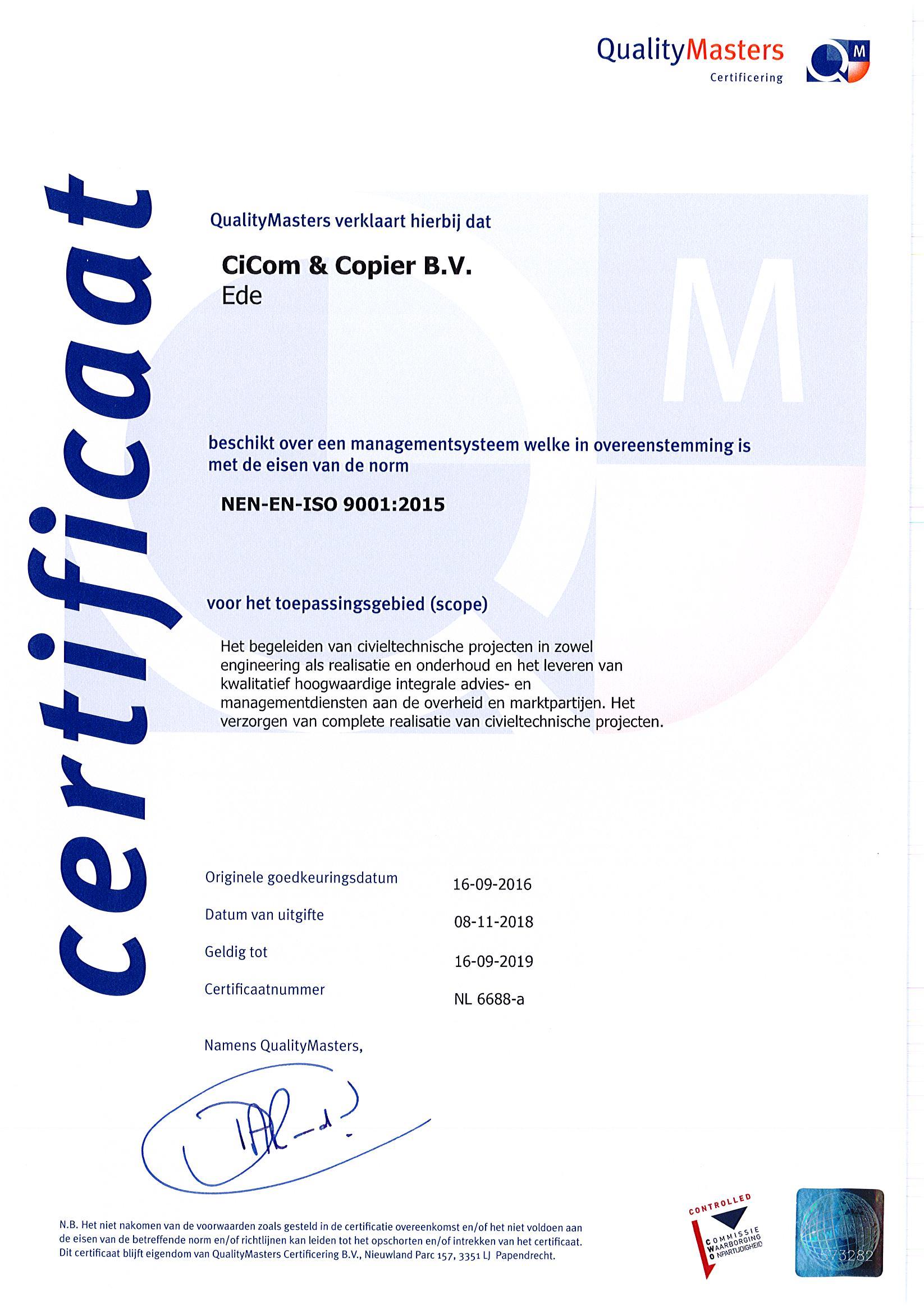 2018-11-08aangepastcertificaatiso9001cicomcopierbvnl6688-a